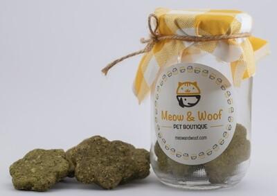 Treats Cookies Fresh Breath (Jar) - Meow nd Woof