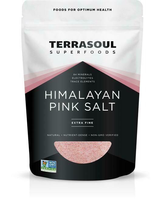 Salt Himalaya Pink Coarse (Bag) - Terrasoul Superfoods
