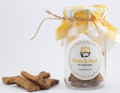 Treats Cookies Sweet Potato (Jar) - Meow nd Woof