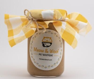 Treats Peanut Butter (Jar) - Meow nd Woof