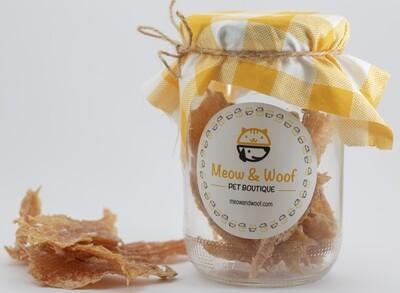 Treats Chicken Jerkies (Jar) - Meow nd Woof