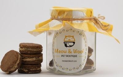 Treats Pawreo (Jar) - Meow nd Woof