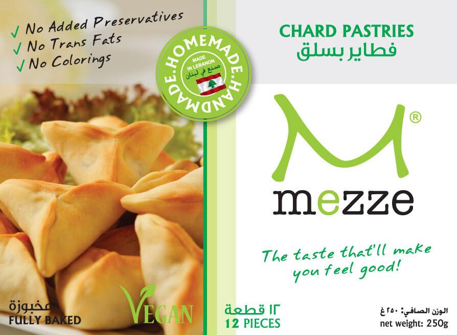Pastries Frozen Chard (Pack) - Mezze