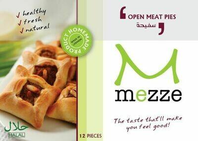 Pastries Frozen Open Meat Pies - Sfiha (Pack) - Mezze