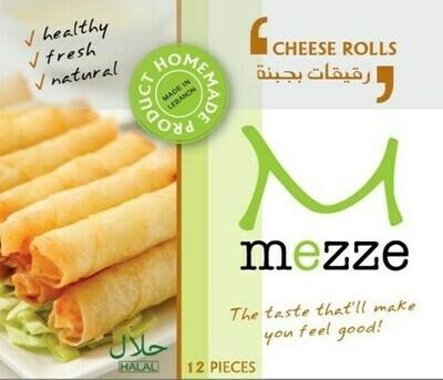 Pastries Frozen Cheese Rolls (Pack) - Mezze
