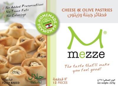 Pastries Cheese & Olive Bites (Pack) - Mezze