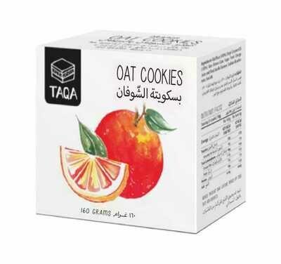Oat Cookies Orange (Piece) - Taqa