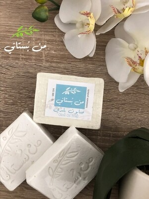 Soap Olive Oil (Piece) - Men Boustani