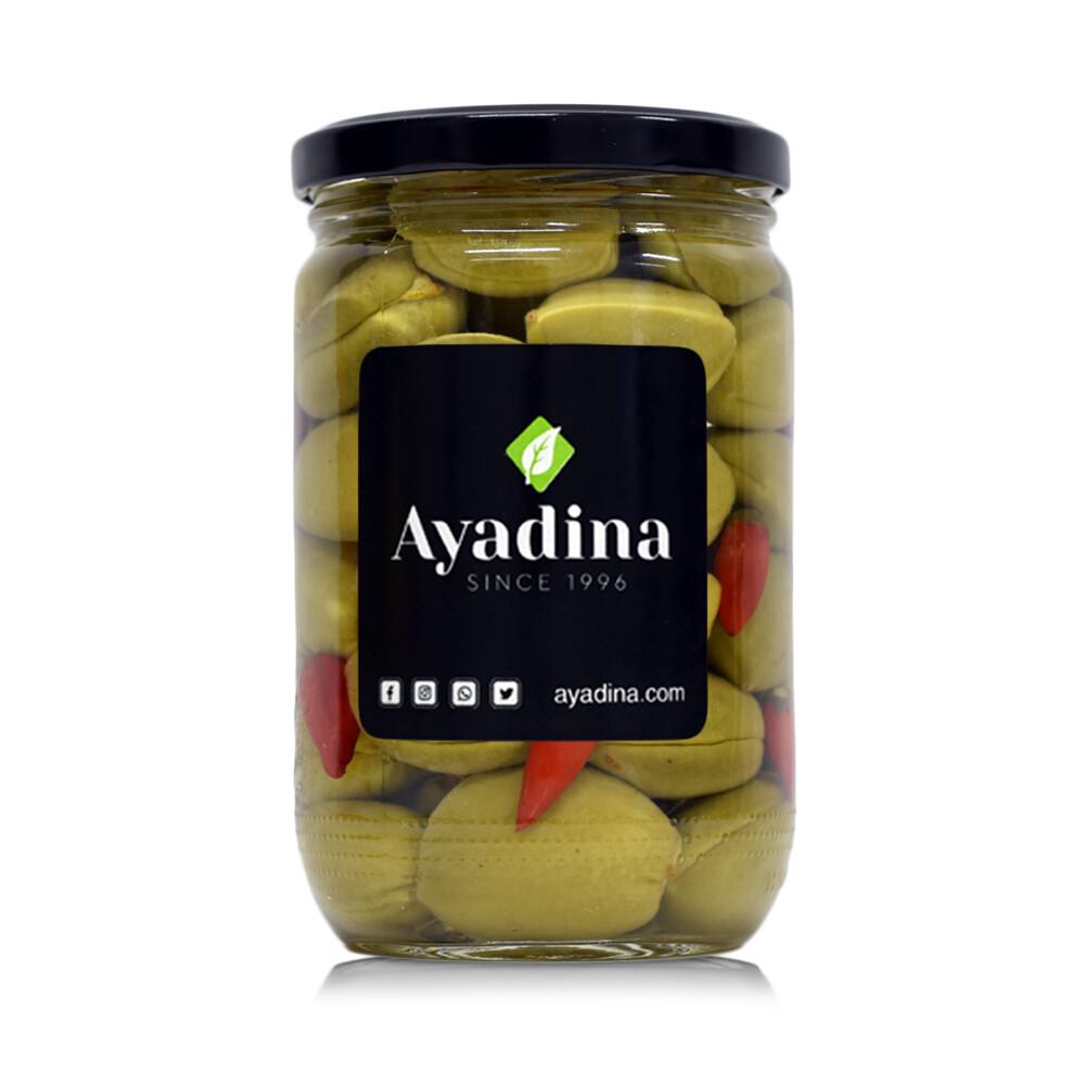 Almonds with Chili Pickled (Jar) - Ayadina