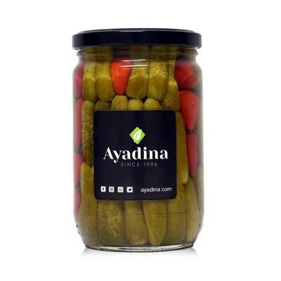 Cornichons Spicy Pickled (Jar) - Ayadina