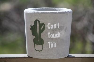 Concrete Cactus (Pot) - Coup de Glue