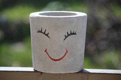 Concrete Happy (Pot) - Coup de Glue