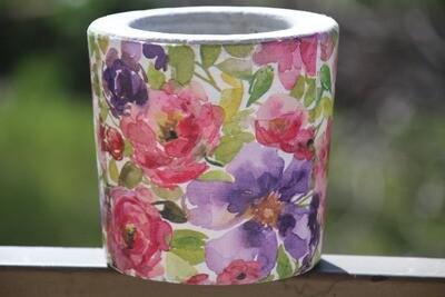 Concrete Flowers (Pot) - Coup de Glue