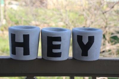 Concrete HEY (Pot) - Coup de Glue