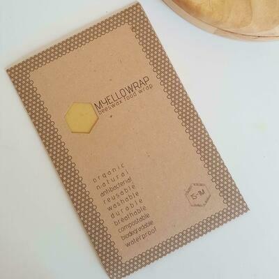 Beeswax Wraps Organic (Box) - MYELLOWRAP
