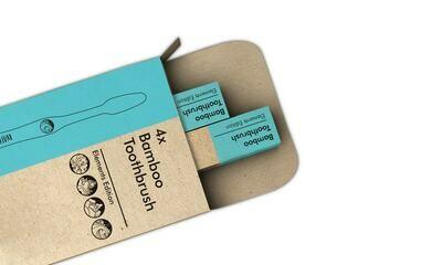 Toothbrush Bamboo (Box) - Nup