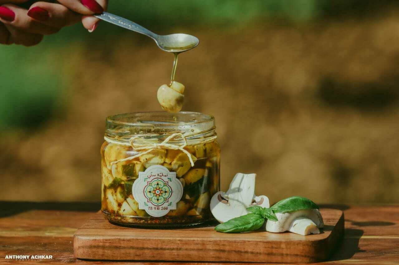 Mushroom Marinated with Oil (Jar) - Namliyet Setti
