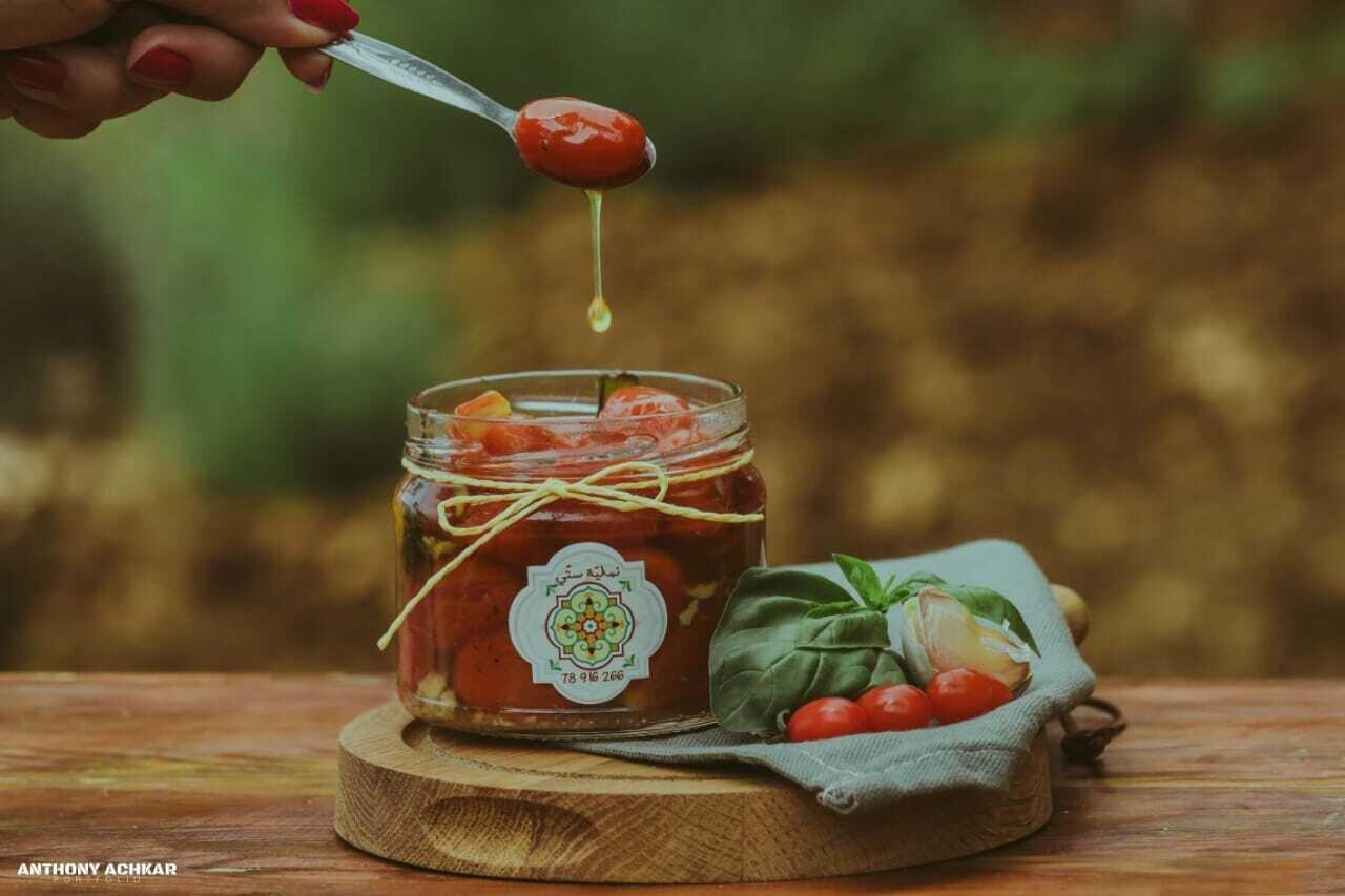 Cherry Tomato and Basil (Jar) - Namliyet Setti