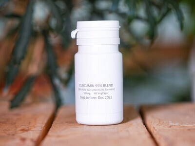 Curcumin 95% Blend (Pills) - Nature by Marc Beyrouthy