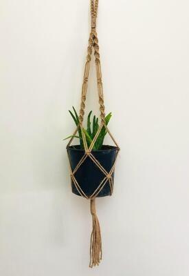 Macrame Hanger Plant Jute (Piece) - Spot the Knot