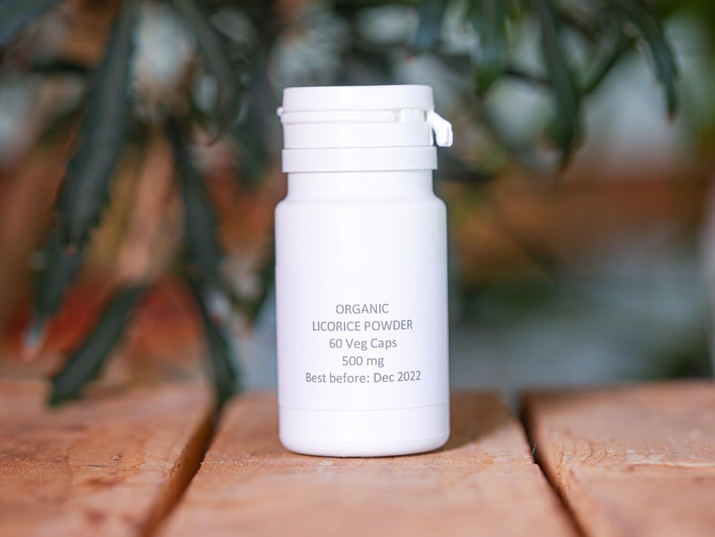Licorice Powder Organic (Pills) - Nature By Marc Beyrouthy