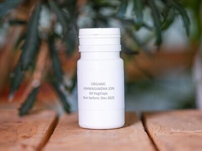 Ashwagandha 15% (Pills) - Nature by Marc Beyrouthy