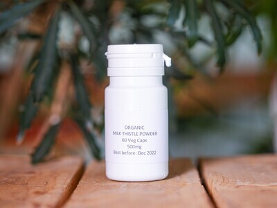 Milk Thistle Powder Organic (Pills) - Nature by Marc Beyrouthy