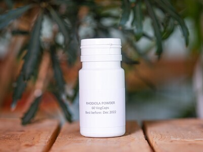 Rhodiola Powder (Pills) - Nature by Marc Beyrouthy