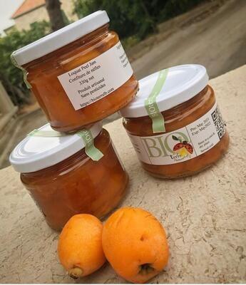 Loquat Peel Jam (Jar) - BioTerre