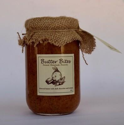Almond Butter with Dark Chocolate and Orange (Jar) - Butter Bites