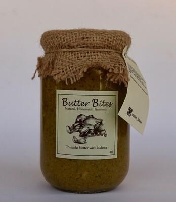 Pistachio Butter with Halawa (Jar) - Butter Bites