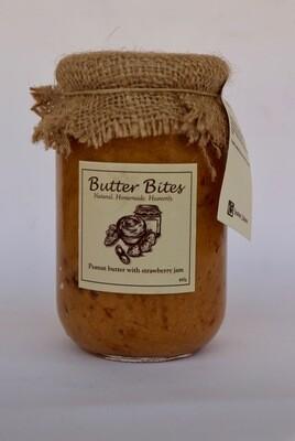 Peanut Butter with Strawberry Jam (Jar) - Butter Bites