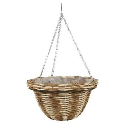 Basket in Rattan - Verdemax