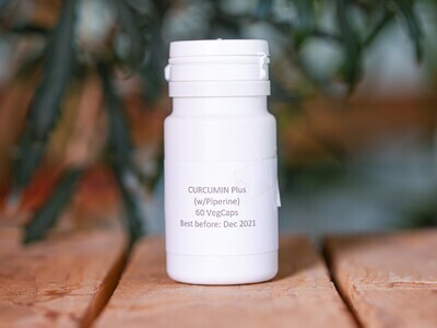 Curcumin 95% Plus Piperine (Pills) - Nature By Marc Beyrouthy