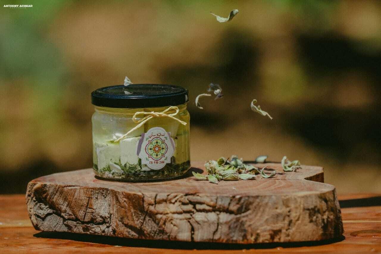 Cheese Feta with Thyme (Jar) - Namliyet Setti