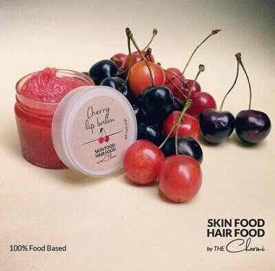 Lip Balm Cherry (Jar) - Skin Food Hair Food