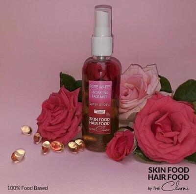 Face Mist Rose Water (Bottle) - Skin Food Hair Food