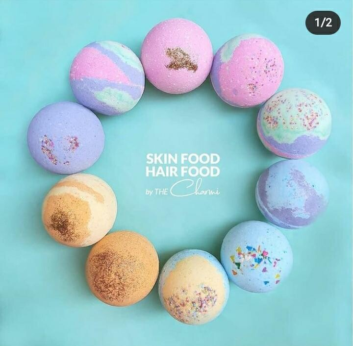 Bath Bomb (Piece) - Skin Food Hair Food