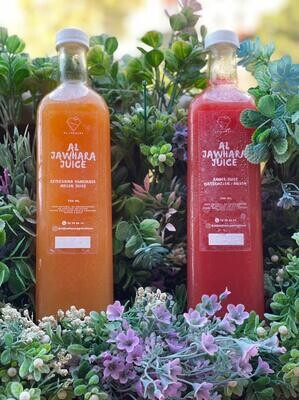 Juice Amber (Bottle) - Al Jawhara