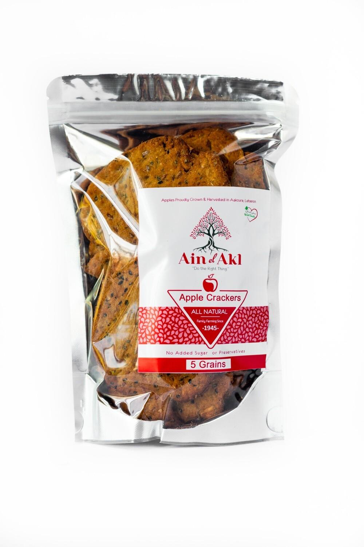 Crackers Apple 5Grains (Bag) - Ain El Akl