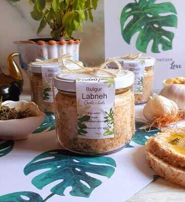 Labneh Bulgur (Jar) - Biofine