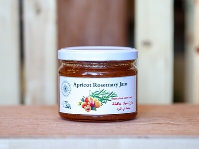Apricot Rosemary Jam (Jar) - From Rima with Love