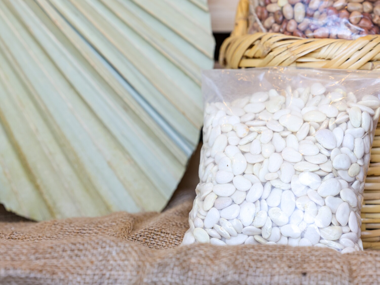 Beans White Medium فاصوليا بيضاء وسط (Bag) - Nature by Marc Beyrouthy