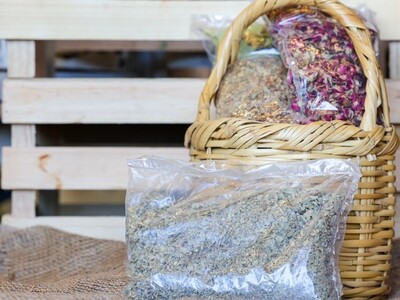 Zaatar / Lebanese oregano (Origanum syriacum)(Bag) - Nature by Marc Beyrouthy