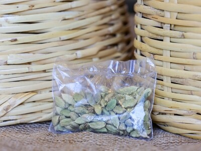 Cardamom Seeds (Elettaria cardamomum) (Bag) - Nature by Marc Beyrouthy