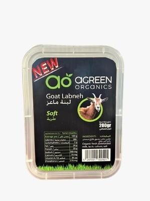 Goat Labneh Organic (Soft) ماعز لبنة (Pack) - Agreen Organics