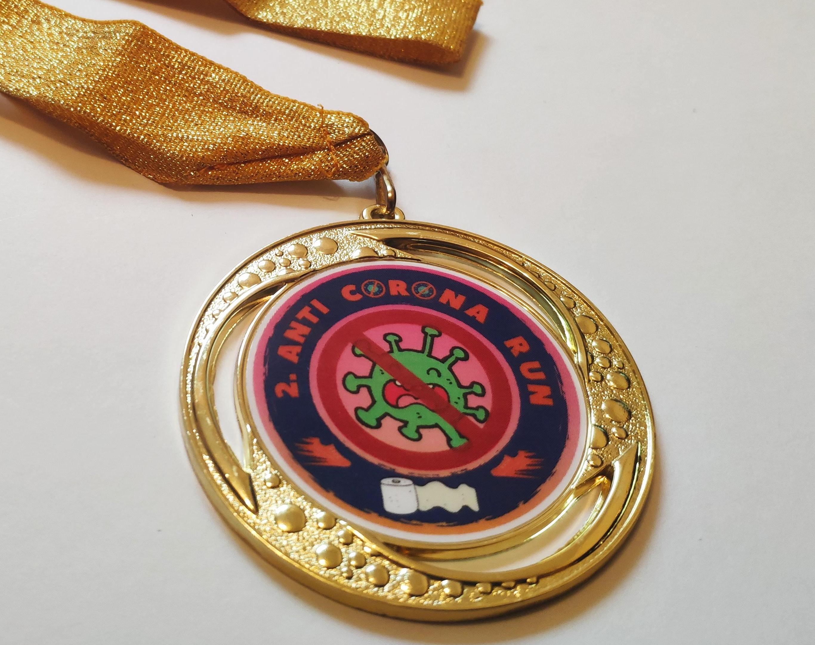 Anti Corona Run (inkl. Medaille)