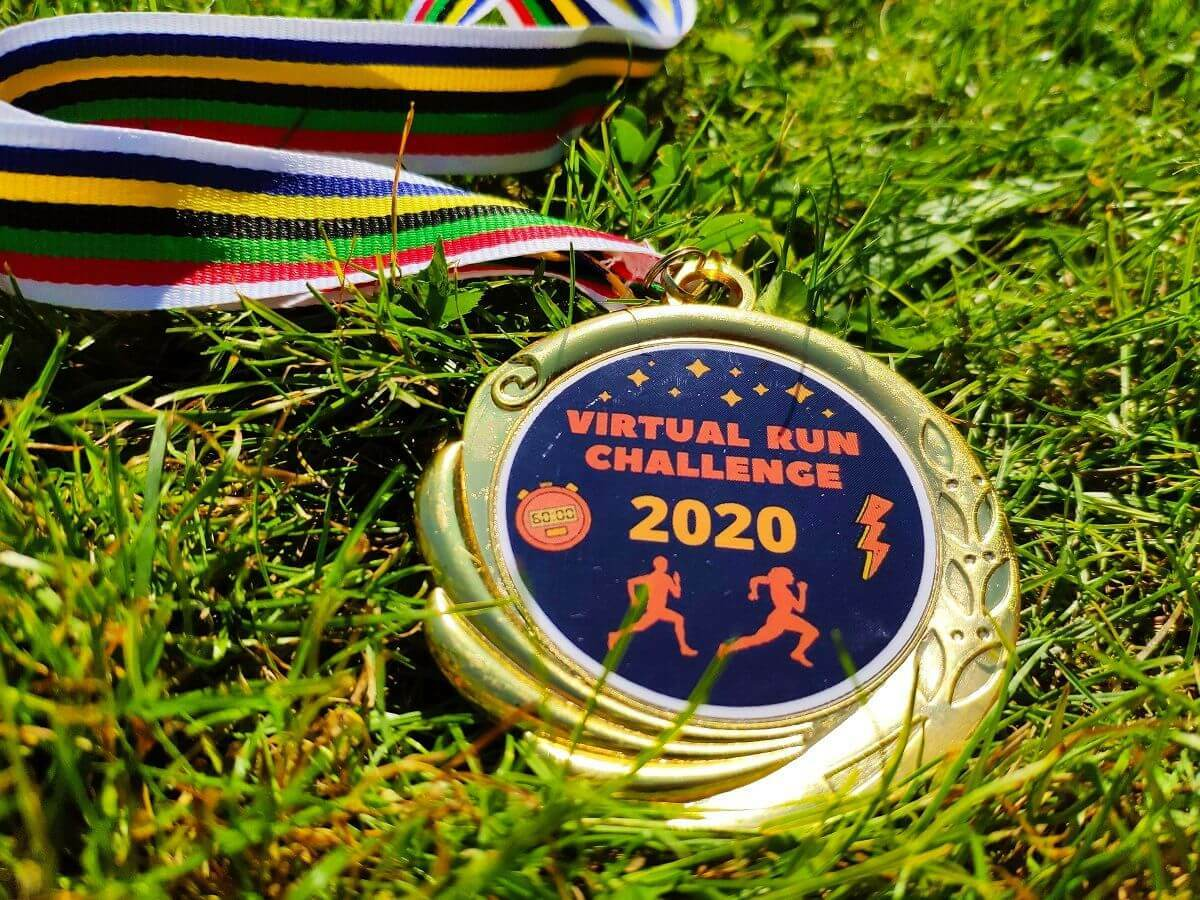 Run Challenge 2020 & 2021 (inkl. Medaille)