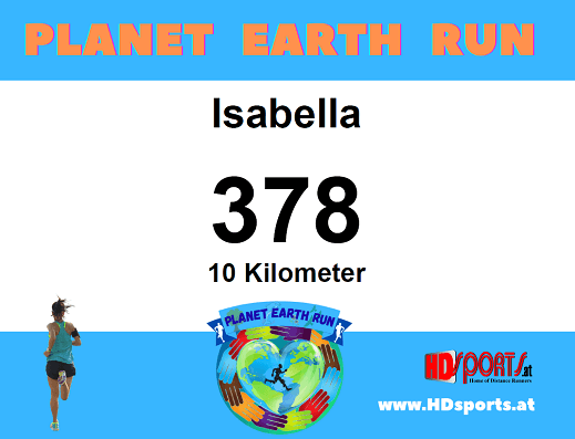 Planet Earth Run (inkl. Medaille)