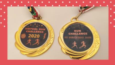 Run Challenge 2020 & 2021 (inkl. Medaille) V102